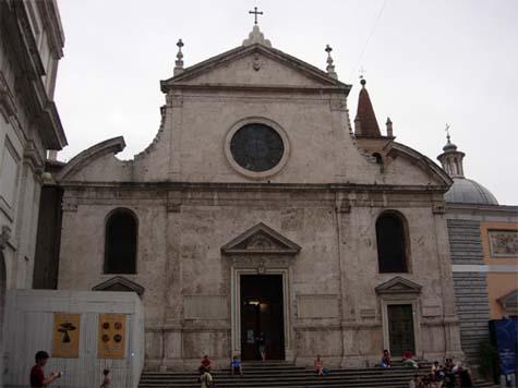 サンタ・マリア・デル・ポポロ教会1