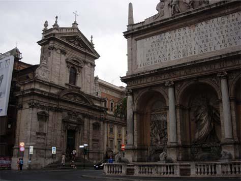 サンタ・マリア・デッラ・ヴィットリア教会1