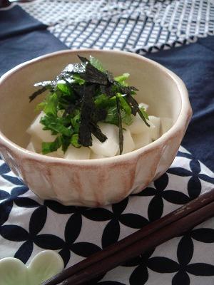 長芋のわさび醤油