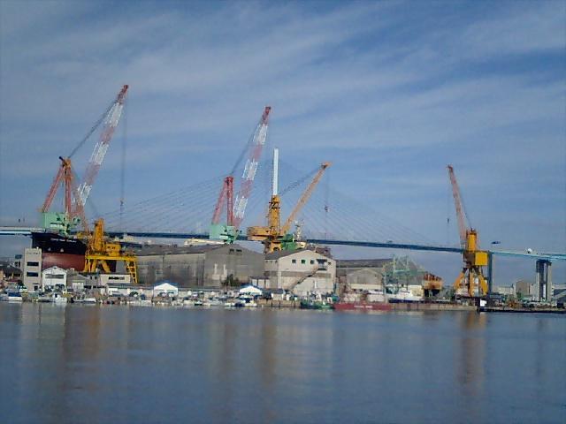 博多の造船所