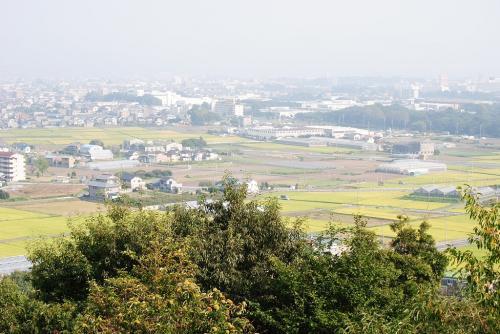 赤塚山公園展望台