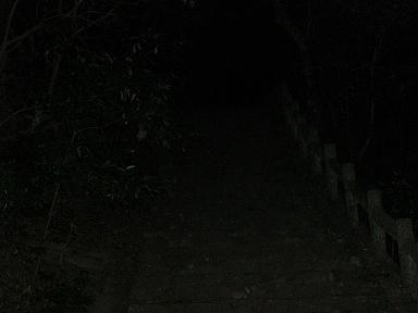 闇に続く階段