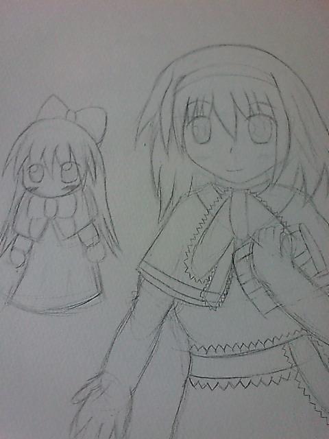 アリス&上海人形