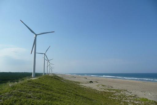 12基の風力発電設備