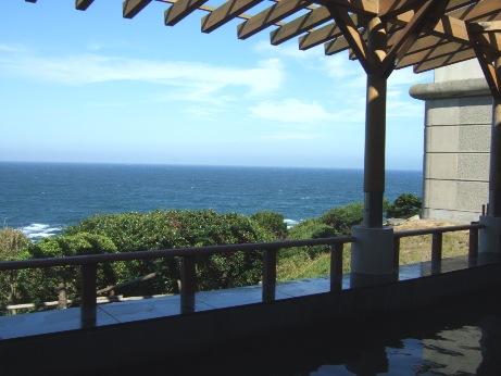 太平洋が一望できる露天風呂