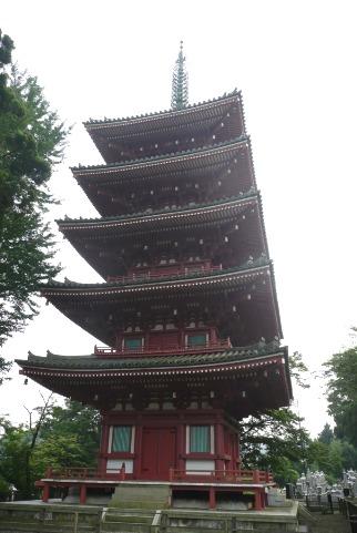 立派な五重の塔