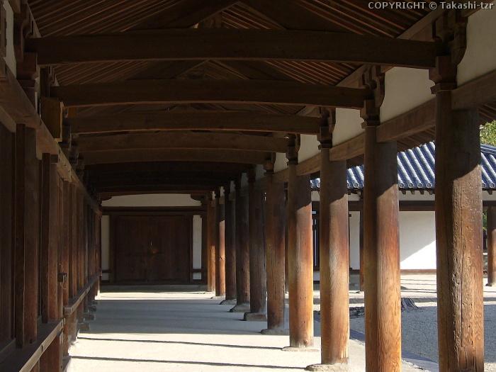 法隆寺廻廊