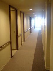 大盛りパスタ家廊下