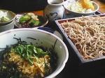 深川丼とそば&天ぷら♪