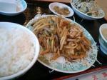 ザーサイと豚肉の炒め☆
