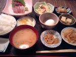 ソーダ鰹の刺身定食☆