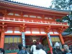 祗園祭りで有名な八坂神社!