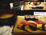 特選寿司&あら汁♪