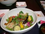 霧島豚の網焼きと季節の彩り野菜丼御膳♪