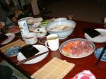 ひさびさの手巻き寿司☆