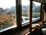 鴨川を眺める景色☆