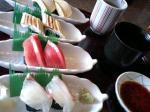 お寿司も出てきました!