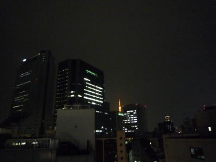 東京タワーが見えます♪