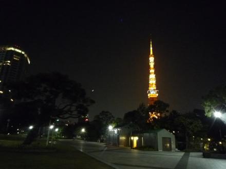 東京タワー from 芝公園