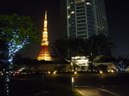 ザ・プリンセス パークタワー東京と東京タワー☆