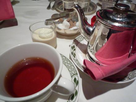 食後の紅茶♪