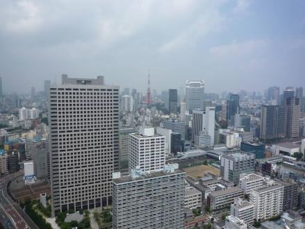 眼下(!?)には東京タワー☆