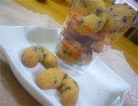 今日の手作り チョコチップクッキー♡