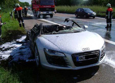 Audi on Audi R8
