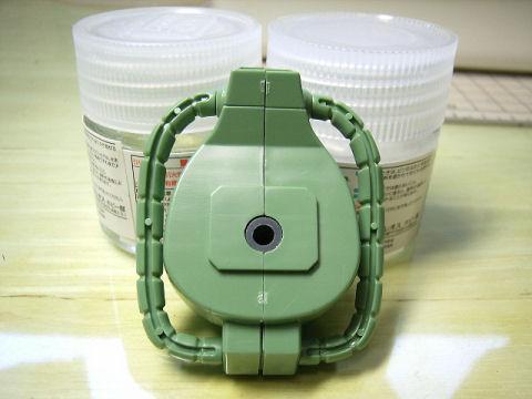 BB戦士 ザクⅡ 頭動力パイプ