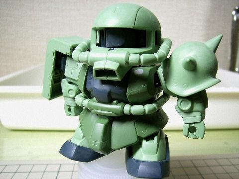 BB戦士 ザクⅡ 80%-1