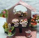 ドールハウスのクリスマスケーキ