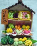 ドールハウスの果物屋さん