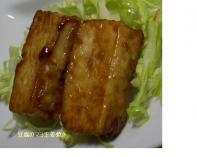 豆腐のマヨ生姜焼き#9825;