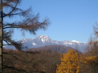 妙高山と火打山