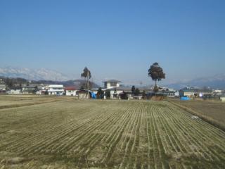 2007年1月30日の飯山風景