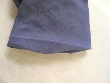 綿 濃色アイテムの白化