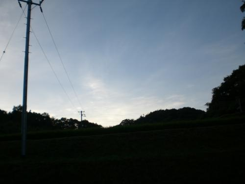 夏の夜明け