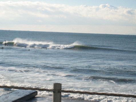 昨日の波1