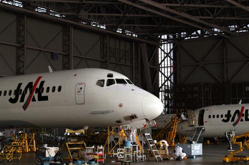JAL整備工場