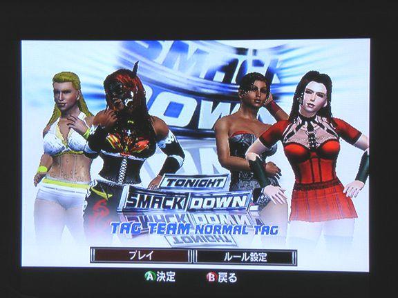 SD vs RAW 2007  レッスルエンジェルス・サバイバー