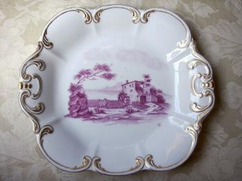 風景画の角皿