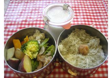 蒸し野菜弁当