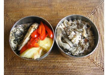 ぶりの香草焼き弁当