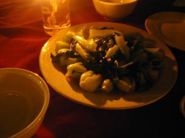 ゾーンワン野菜炒め
