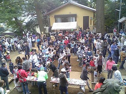 神社秋祭り