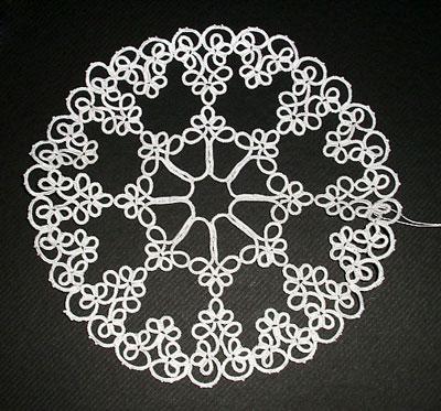 タティングレース日和 tatting patterns and designs