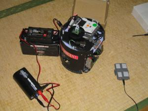 充電中の新型FW
