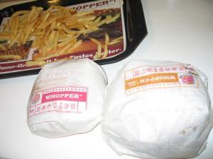 巨大ハンバーガー!!
