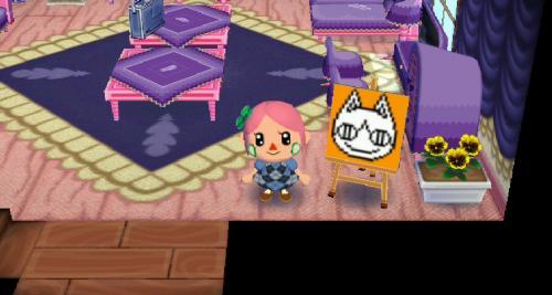 みしらぬネコの塗り絵