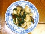 椎茸とモロヘイヤのソテイ